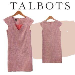 5 for $50- Talbots Tweed Career Shift dress
